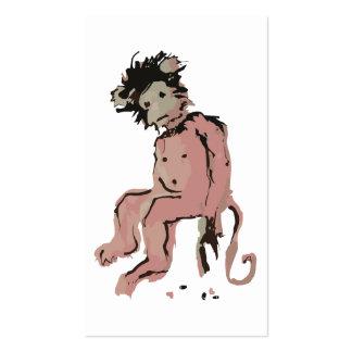 emo monkey ink business card
