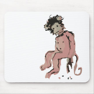 emo monkey ink mousepad