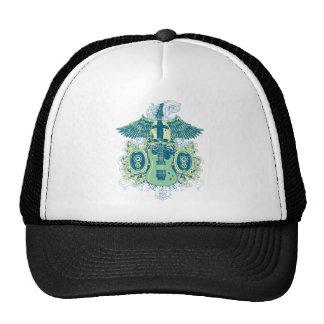 Emo Music Skull Trucker Hat