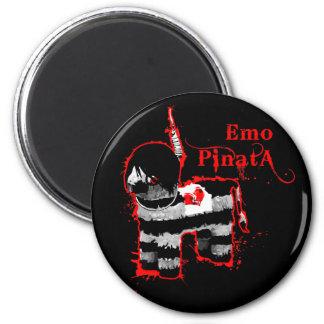 emo pinata 6 cm round magnet