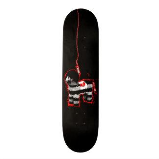 emo pinata skate board