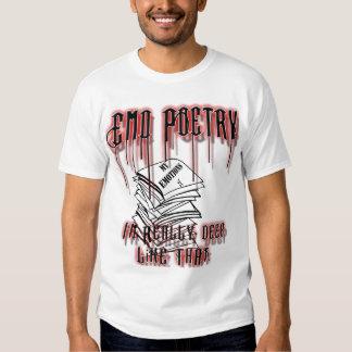 Emo Poetry Tees