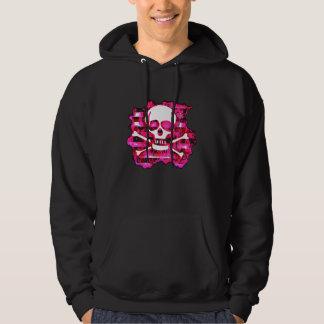 Emo Skull & Crossbones Hoodie