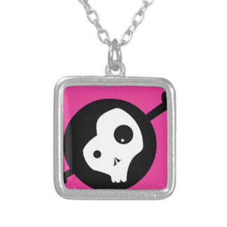 Emo Skull Personalized Necklace