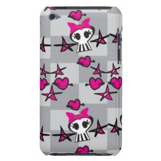 Emo Skulls Pattern iPod Case-Mate Case
