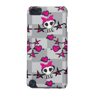Emo Skulls Pattern iPod Touch 5G Covers