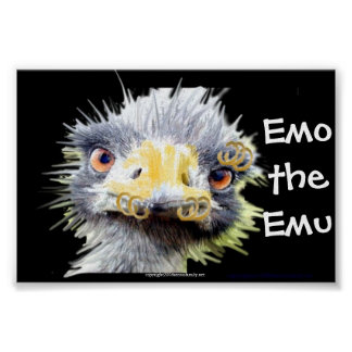 Emo the Emo Poster