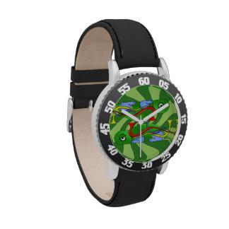 Emo Tortoise Kids Adjustable Bezel Watch