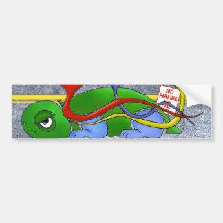 Emo Tortoise Sticker Bumper Sticker