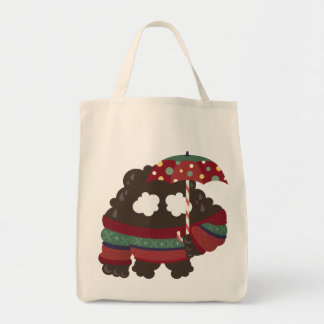 Emoc in Festive Season Grocery Tote Bag