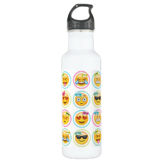 Emoji 24 oz Water Bottle 710 Ml Water Bottle