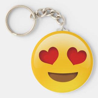 Emoji Basic Round Button Key Ring
