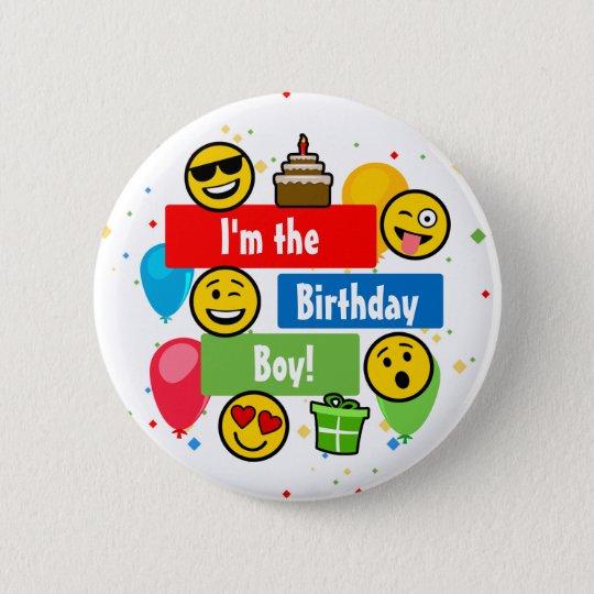 Emoji Birthday Party Kids Im the Birthday Boy