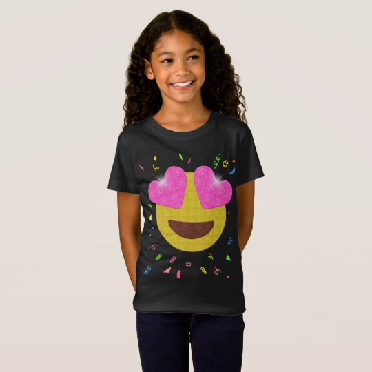 Emoji Birthday Party Shirt - Heart Eyes Emoji