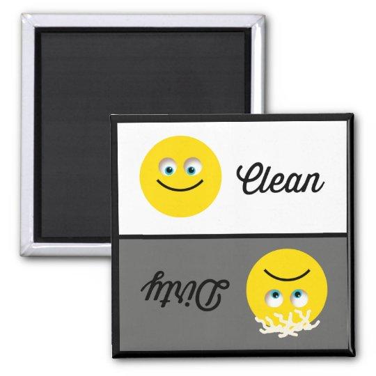 Emoji Clean Dirty Dishwasher Magnet