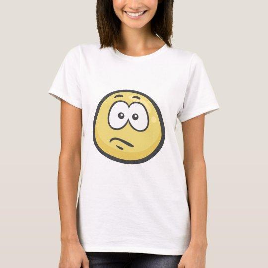 Emoji: Confused Face T-Shirt