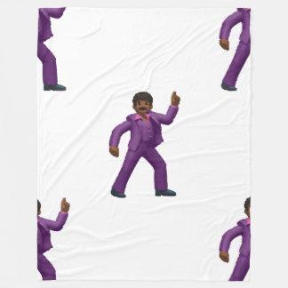 Emoji Dancing Man blanket