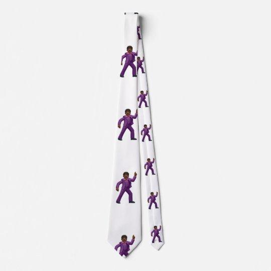 Emoji Dancing Man menswear mens necktie neck tie