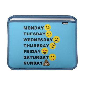 Emoji Days MacBook Sleeve