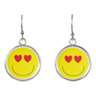 Emoji Drop Earrings