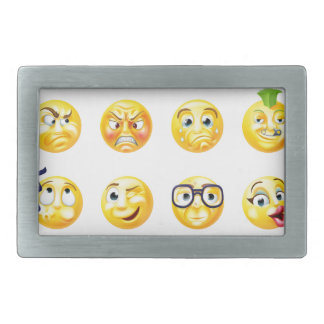 Emoji Emoticon Set Belt Buckle