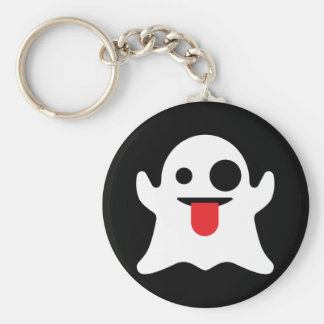 Emoji Ghost Key Ring