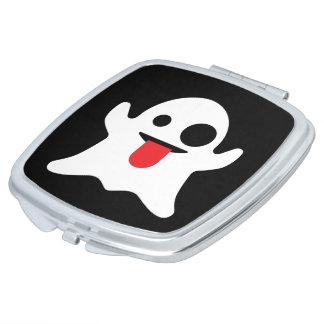 Emoji Ghost Travel Mirror