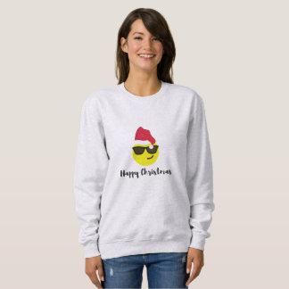 Emoji Happy Christmas sweatshirt