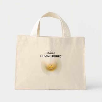 """EMOJI HUMMINGBIRD"" Tiny Tote bag"