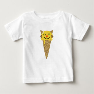 Emoji Icecream Cat Baby T-Shirt