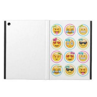Emoji iPad Air Case with No Kickstand