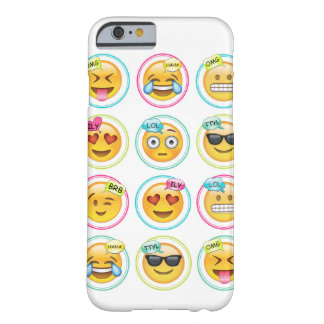 Emoji iPhone 6/6s, Barely There Cell Phone Case