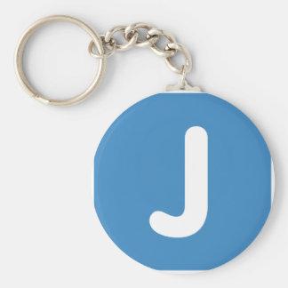 Emoji Letter J Twitter Key Ring