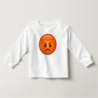 Emoji Mad Face Toddler T-Shirt