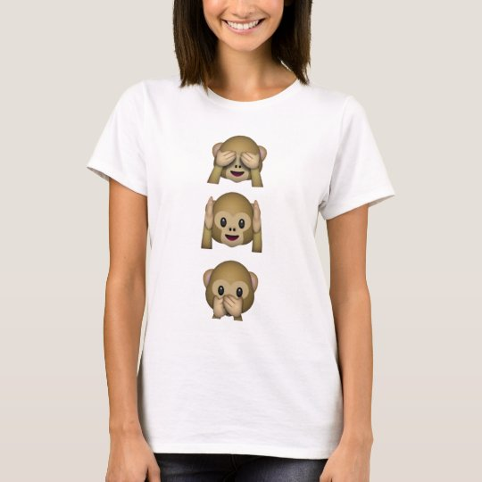Emoji Monkeys T-Shirt