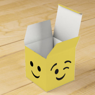 EMOJI Party Favor Boxes Party Favour Box