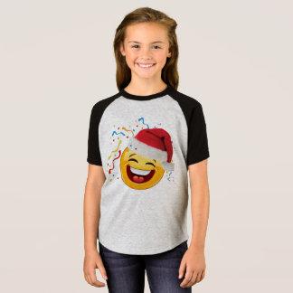 emoji party happy christmas tshirt design