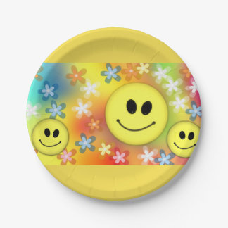 Emoji Party Paper Plate