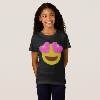 Emoji Party Shirt - Sparkling Heart Eyes Emoji