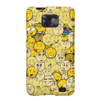 Emoji Pattern Samsung Galaxy SII Cases