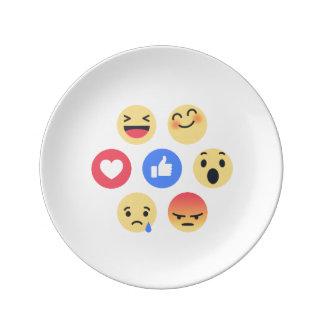emoji plate