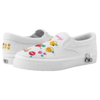 Emoji Slip On Shoes