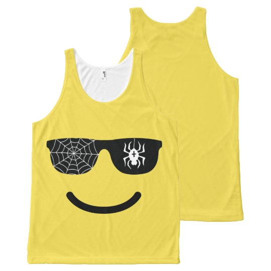 Emoji Smiling Face Funny Halloween Costume All-Over Print