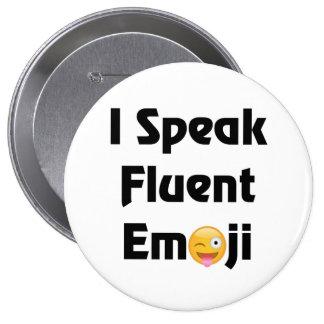 Emoji Speak 10 Cm Round Badge