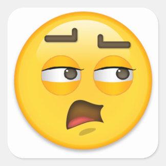 Emoji Square Sticker