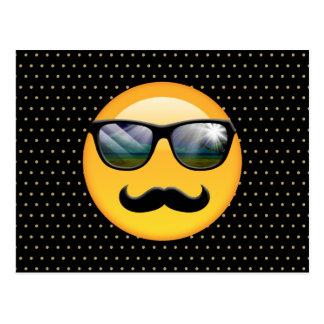 Emoji Super Shady ID230 Postcard