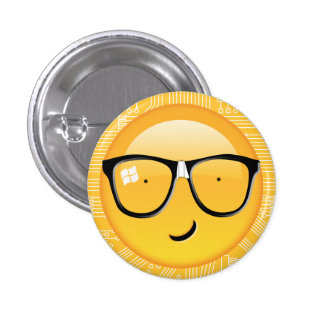 Emoji Totally Techie ID229 3 Cm Round Badge