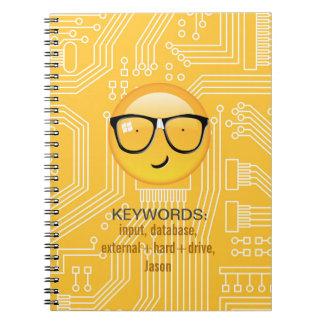 Emoji Totally Techie ID229 Note Book