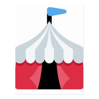 Emoji Twitter - Circus Tent Postcard