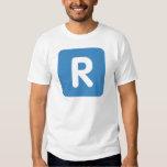 Emoji Twitter Letter R Tshirts